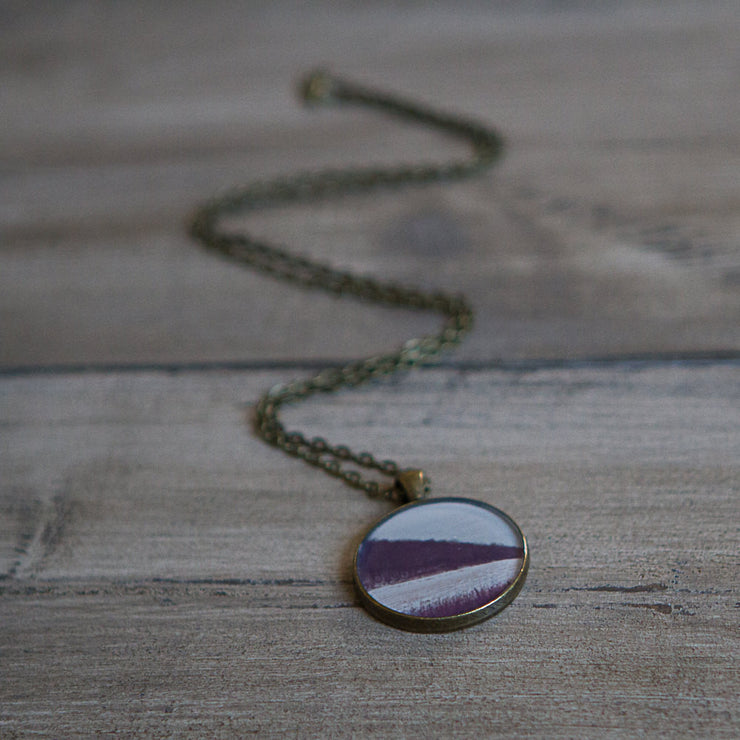 Geometric Nature Necklace