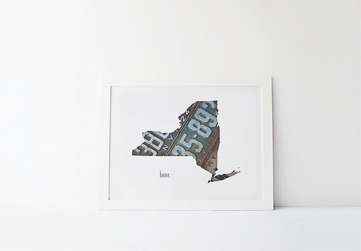 New York Home Print