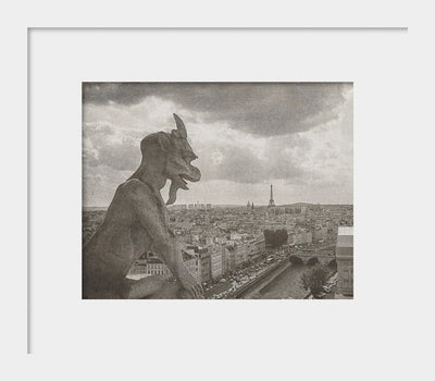 Notre Dame Gargoyle Photograph | Paris Wall Art