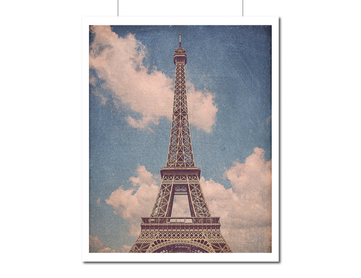 SALE - Eiffel Tower Photograph