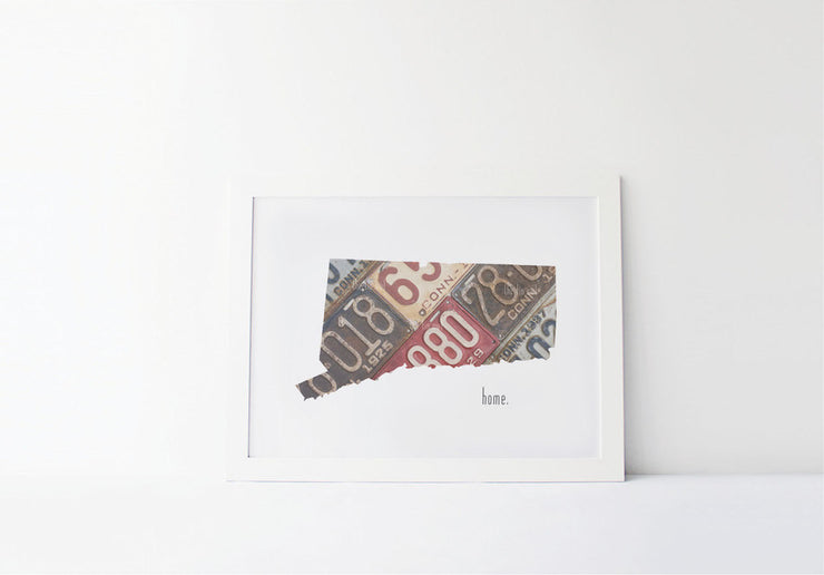 Connecticut Home Print