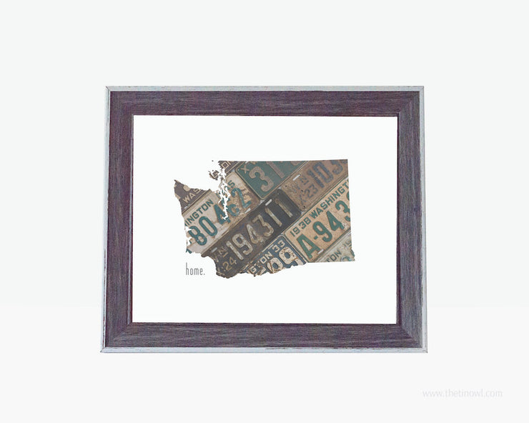 Washington Home Print