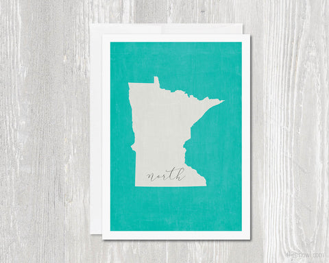 Minnesota North Greeting Card
