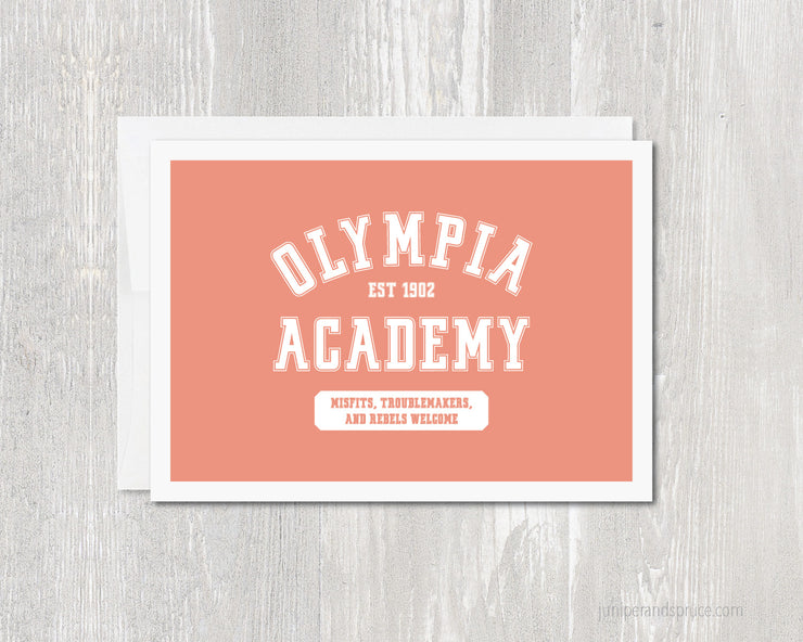 Greeting Card - Olympia Academy