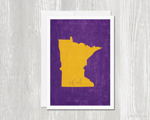 Minnesota Skol Greeting Card