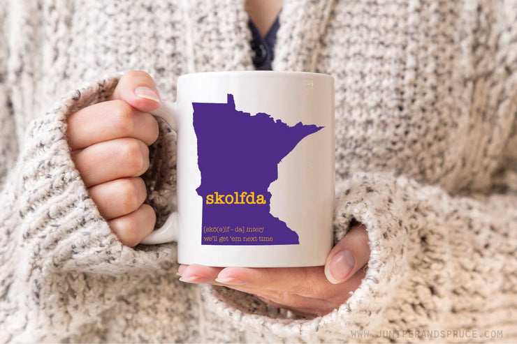 Coffee Mug - Skolfda! Minnesota Vikings