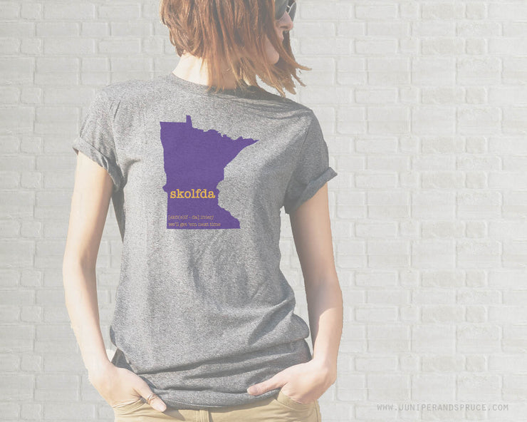 Adult T-Shirt - Minnesota Skolfda Vikings