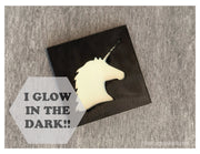Glow in the Dark Art Magnet - Unicorn
