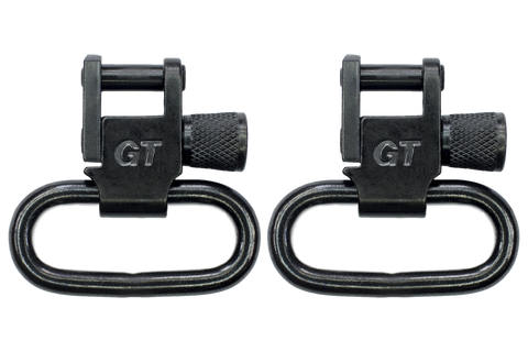 "1"" Locking Swivel Set Black - GTSW01 - GrovTec"