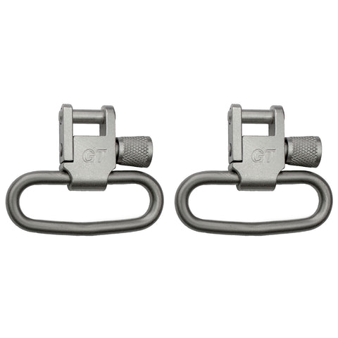 "1-1/4"" Locking Swivel Set Nickel - GTSW04 - GrovTec"
