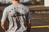 Light Gray Mountain Tee - GrovTec