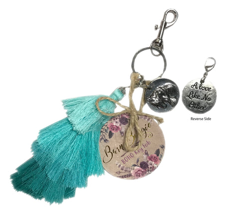 Barn Bougie, Boho Tiered Tassel Keyfob, A Love Like No Other