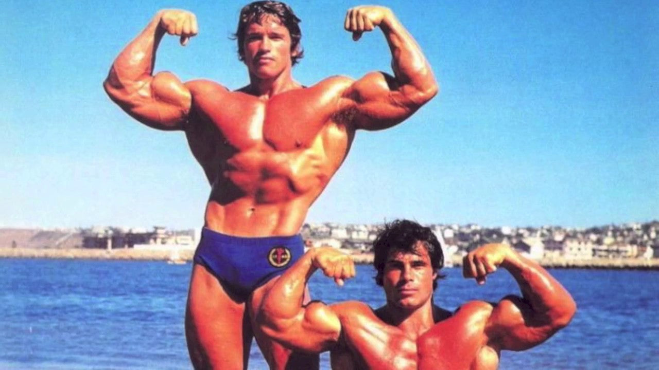 ARNOLD & FRANCO 50 years of friendship Mr olympia 1970-75 and 80-81