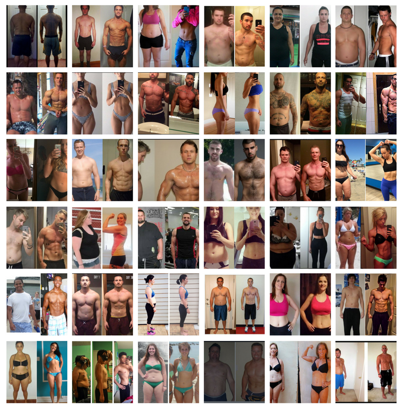IF YOU ARE READY FO RESULTS LIKE THIS. Amazing transformations with Jay Cellier. Online coaching custom plans with Jay Cellier