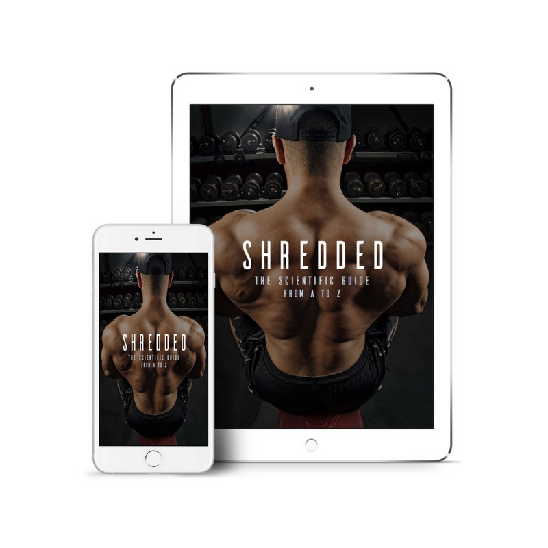 Shredded The Scientific Guide from A-Z written by Jay Cellier Over 100 Pages of Content