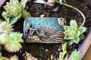 """Stargazer"" - Bronze Belt Buckle"