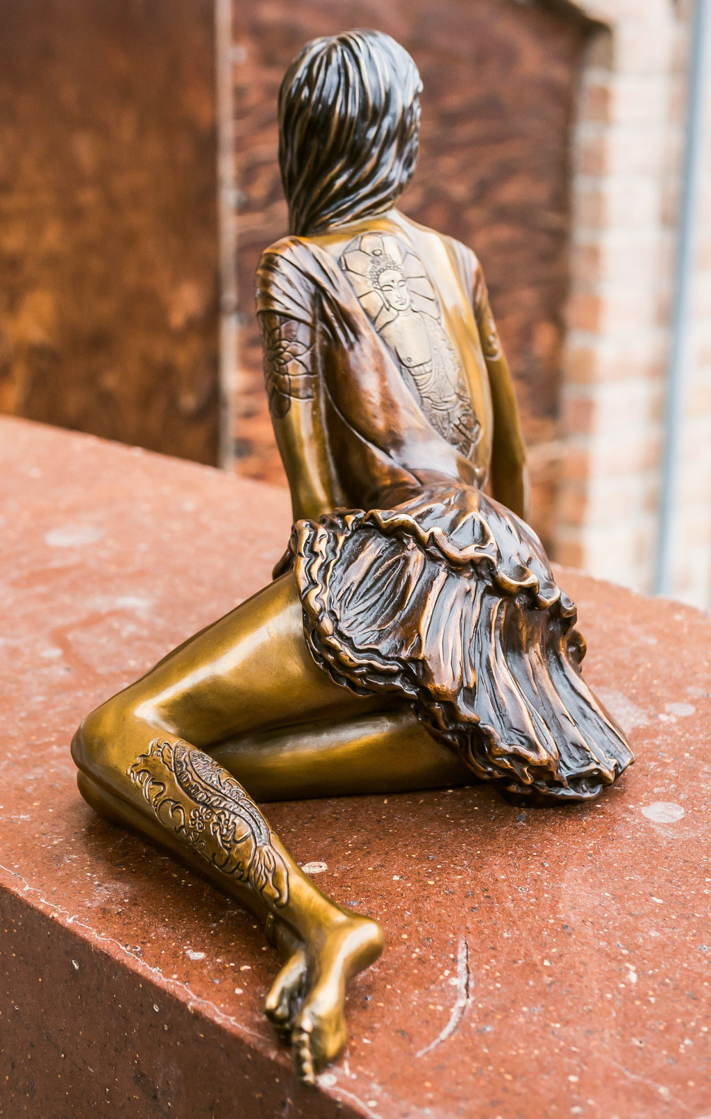 """Betty"" - Bronze Sculpture"