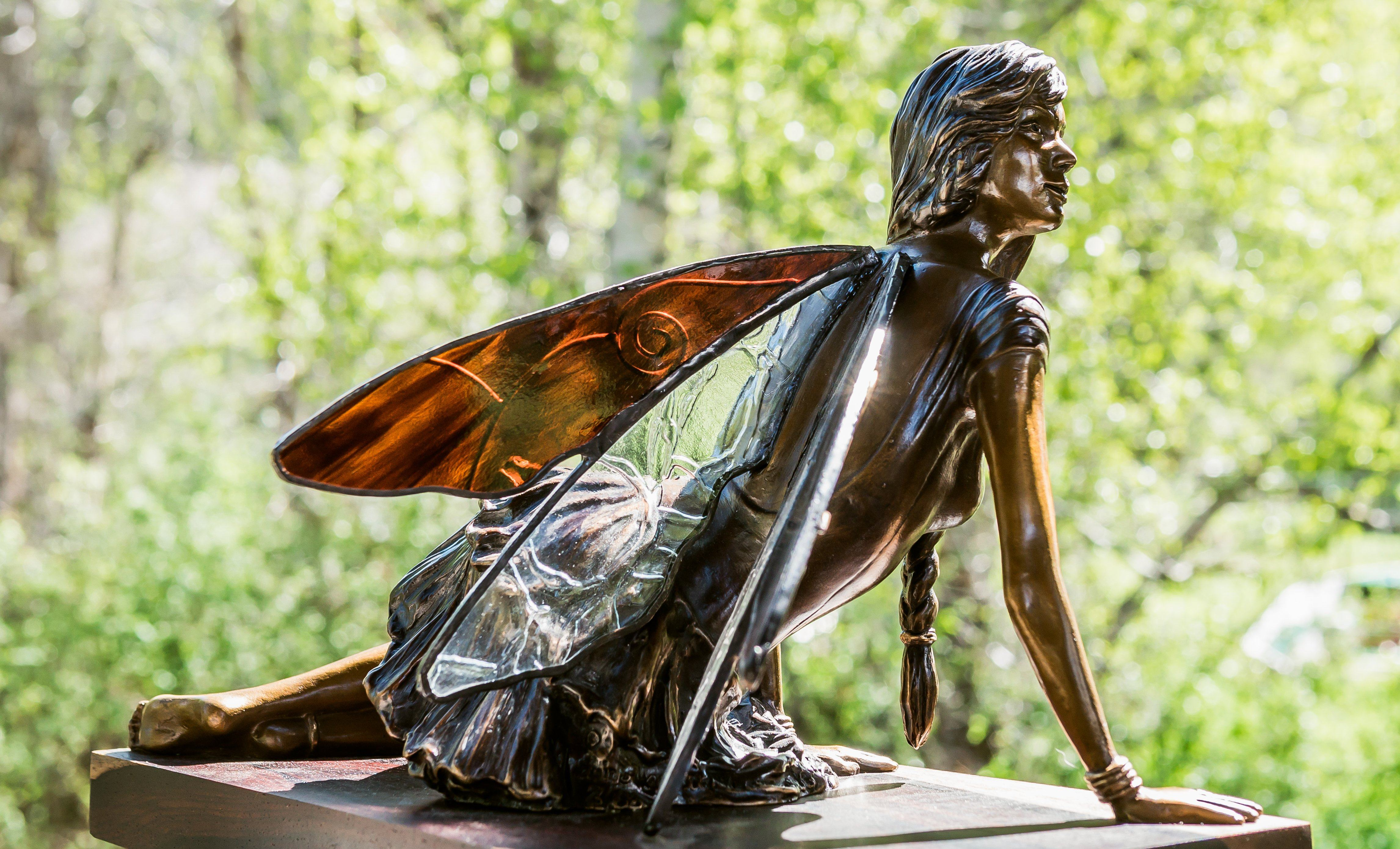 """Meadow Nymph"" - Bronze Sculpture"