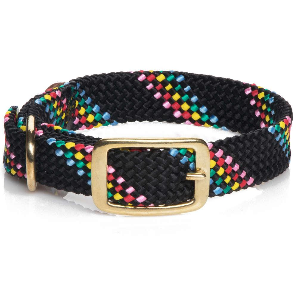 Mendota Dog Collar -Black Confetti-Dog Collar-Dizzy Dog Collars