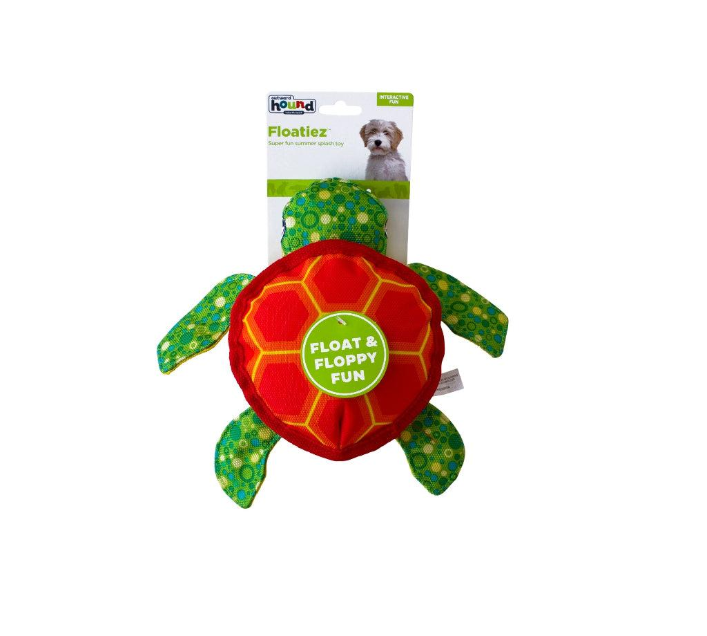 Floatiez Turtle - FLOATING WATER TOY By Outward Hound-Dizzy Dog Collars