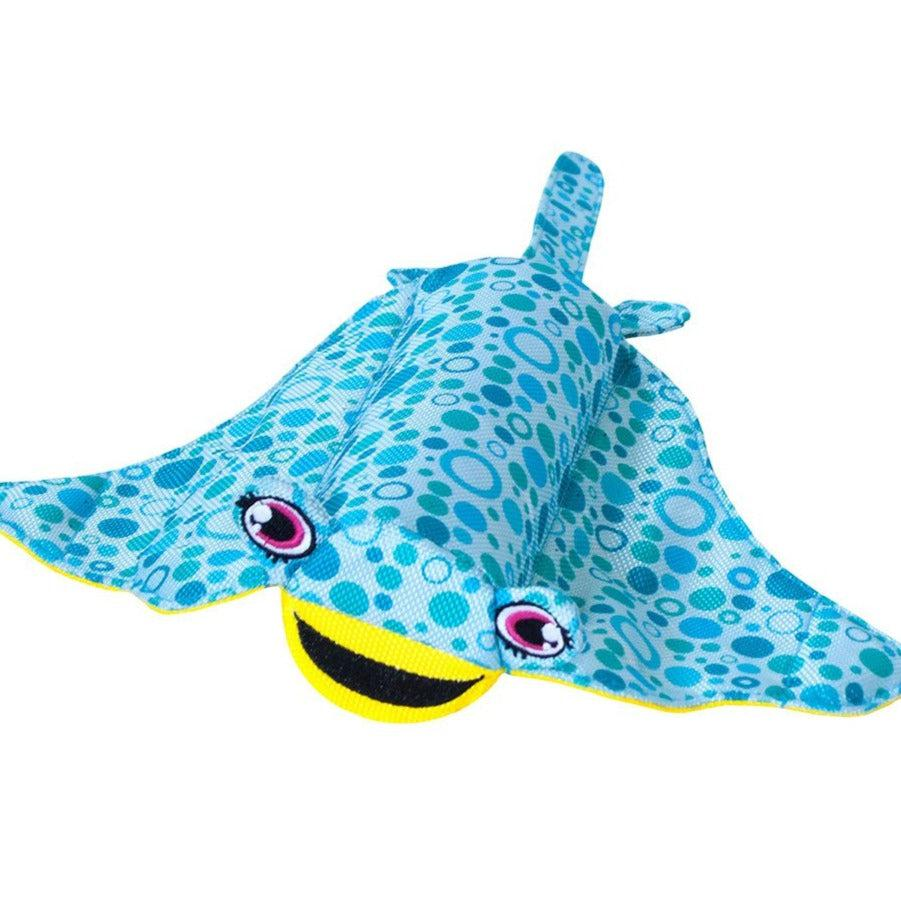 Floatiez Stingray - FLOATING WATER TOY By Outward Hound, Large Dog Toy-Dizzy Dog Collars