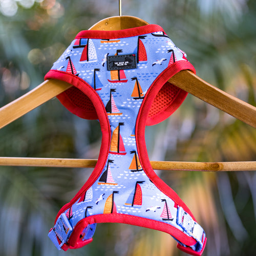 DOG HARNESS - Sail Away - Neck Adjustable Harness