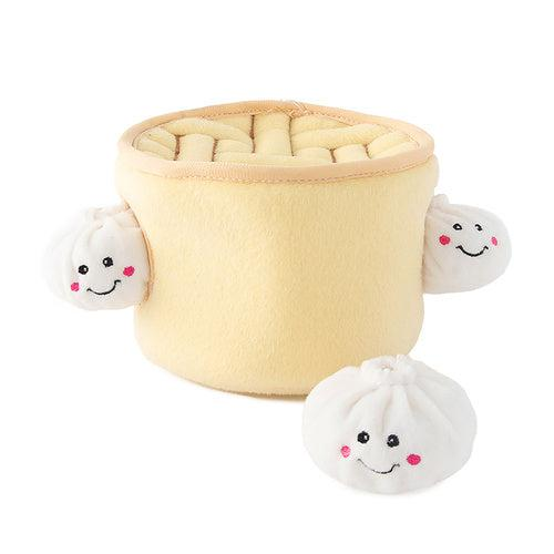 Zippy Burrow - Soup Dumplings Dog Toy-Dizzy Dog Collars
