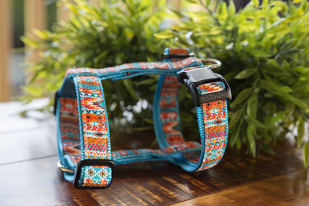Aztec Mexican  / Dog Harness / H-Harness for Dogs
