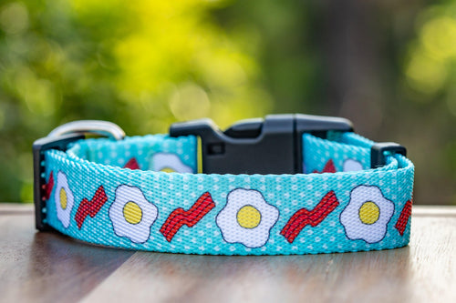"Bacon & Eggs Dog Collar ""Value Range"""