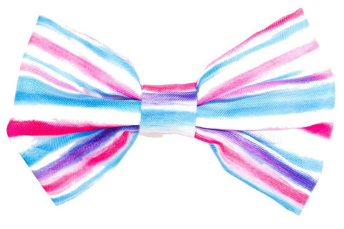 Artist Palette (Pink) Bow Tie - Small & Large