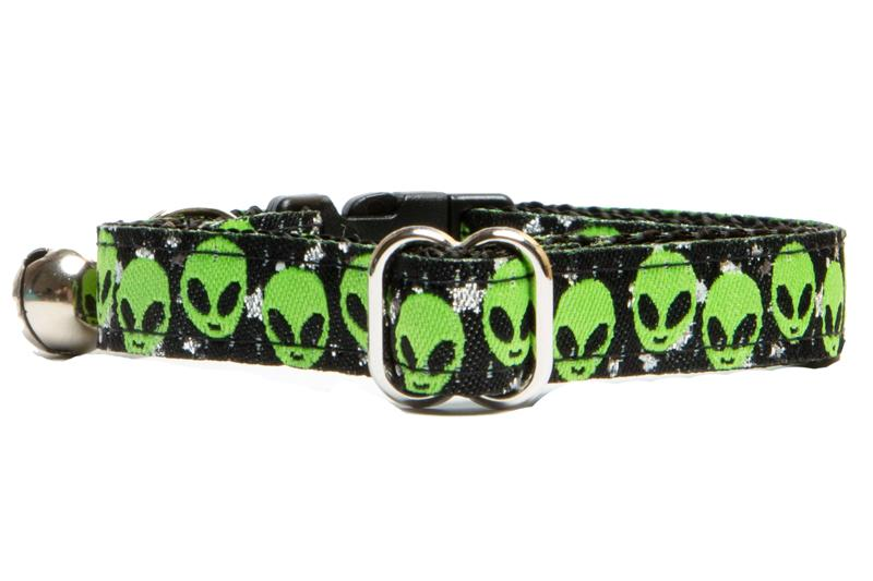 Alien Cat Collar / Toy Breed Dog Collar