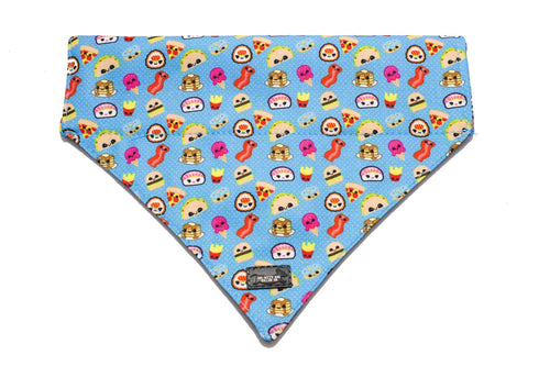 Cheat Day Dog Bandana - Slip on / Over the collar bandana