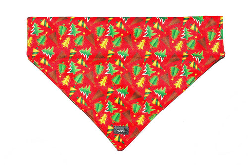 Classic Christmas Bandana - Slip on Dog Bandana