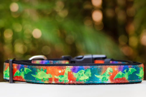 DinoRAWR Dinosaur Dog Collar (Premade)