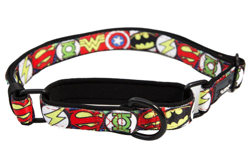 Martingale Dog Collar - Superhero (Premade)