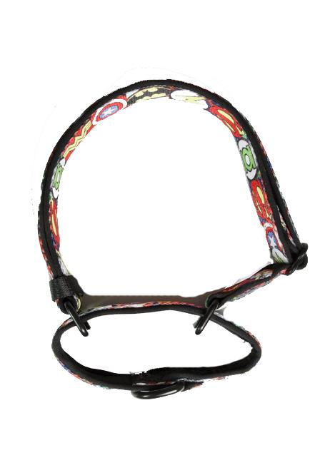 Martingale Dog Collar - Superhero-Dog Collar-Dizzy Dog Collars-Small-Dizzy Dog Collars