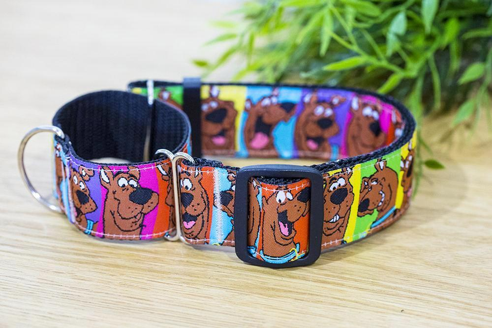 scooby doo dog collar, martingale dog collar