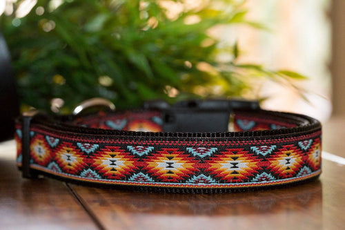 Navajo Dog Collar XS-XL (Handmade to order)