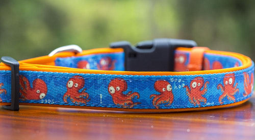 Octopus Dog Collar
