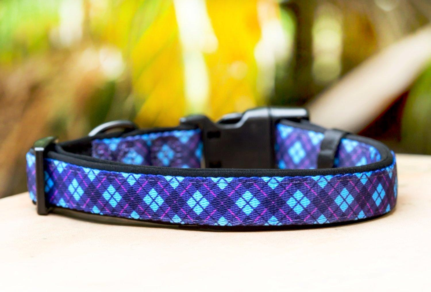The Brampton Dog Collar (Neoprene)-Dog Collar-Dizzy Dog Collars-Extra Small-Dizzy Dog Collars
