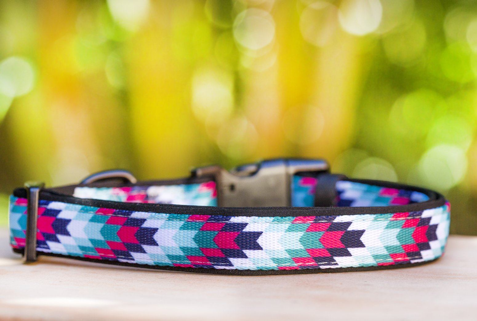 Twilight Navajo Dog Collar (Neoprene)-Dog Collar-Dizzy Dog Collars-Extra Small-Dizzy Dog Collars