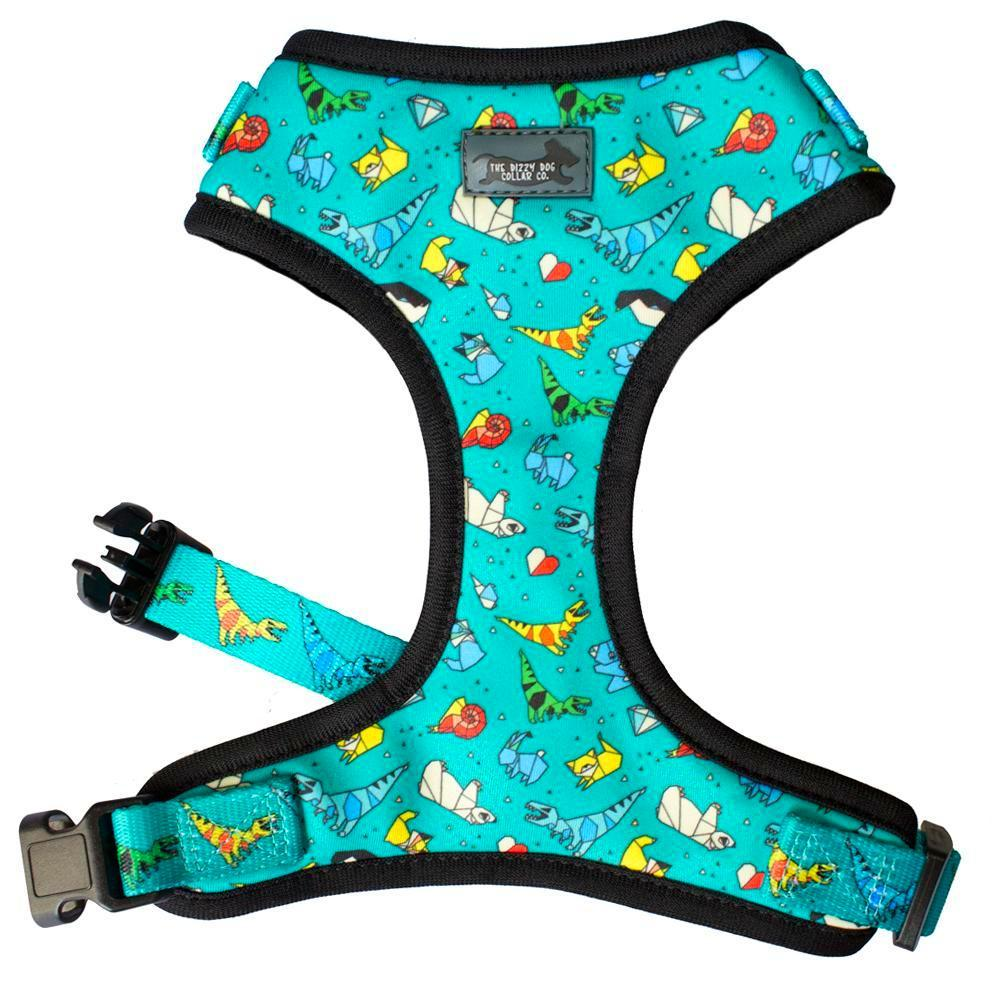 dinosaur dog harness