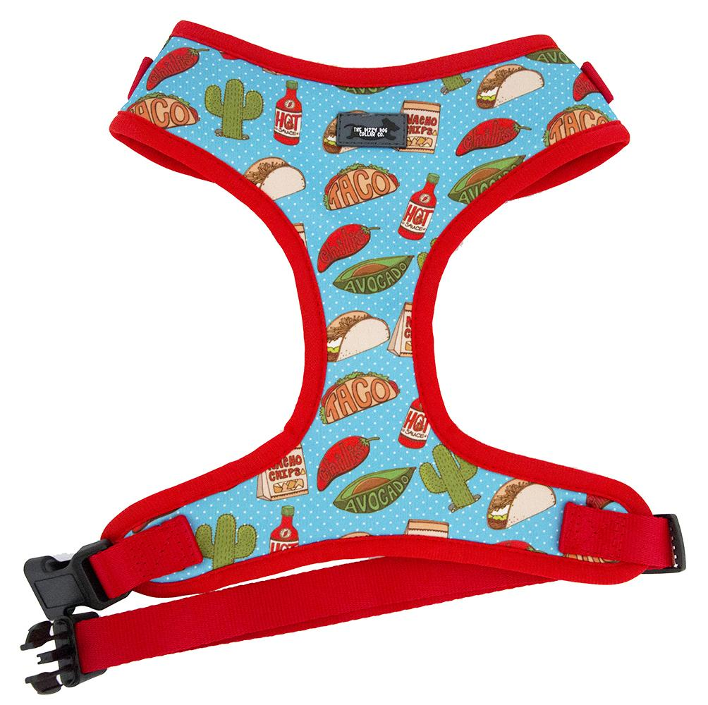 Mexican dog harness, taco dog harness