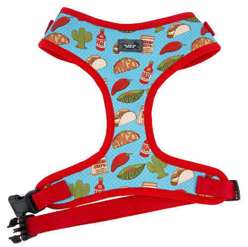 DOG HARNESS - Taco/Mexican - Neck Adjustable (Premade)