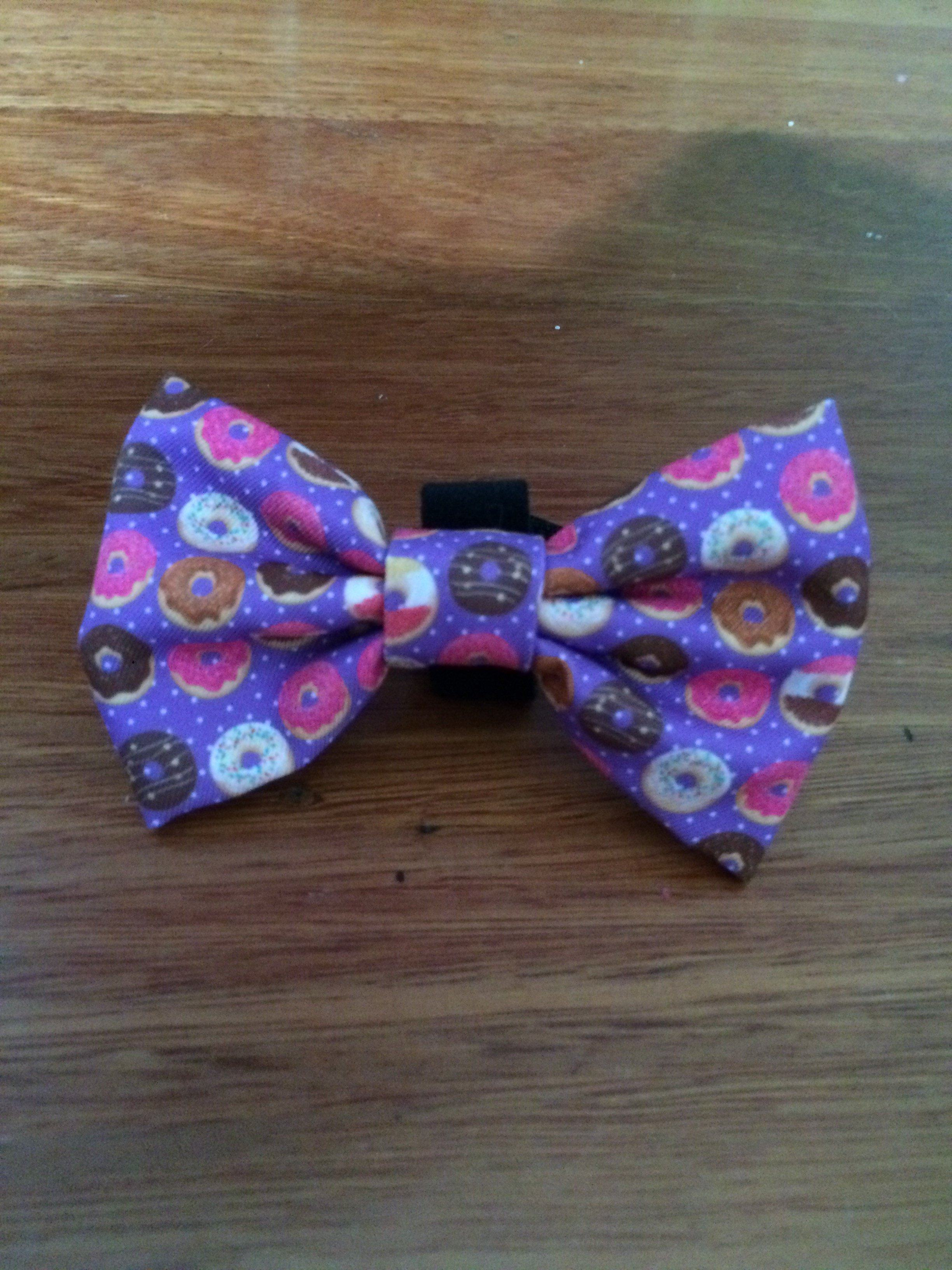 Donuts Bow Tie - Small & Large-Dizzy Dog Collars-Dizzy Dog Collars