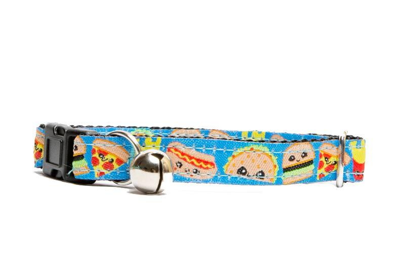 Fast Food Cat Collar / Toy Breed Dog Collar