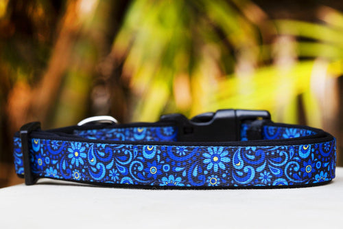 Flower Power Dog Collar (Premade)