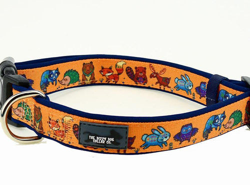Forest Friends Dog Collar