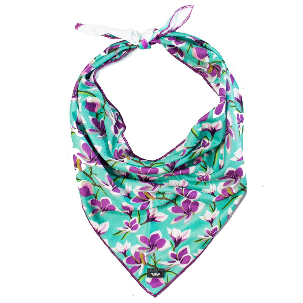 beautiful floral dog bandana