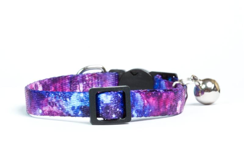 galaxy cat collar, collar, dog collars australia, dog collar